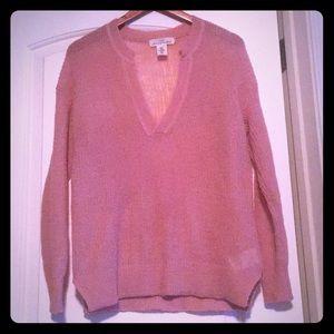 H&M light material sweater
